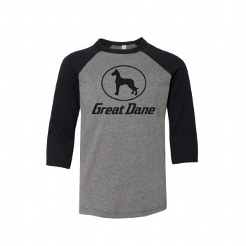 Youth Great Dane Baseball Tee